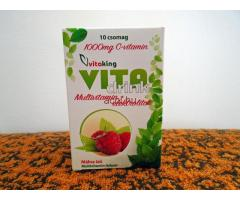 Vitaking Vita Drink málnás multivitamin