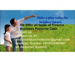 LOAN OFFER FOR EVERYBODY HERE APPLY